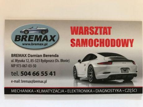 Mechanika samochodowa, naprawa aut, elektromechanika, Bydgoszcz