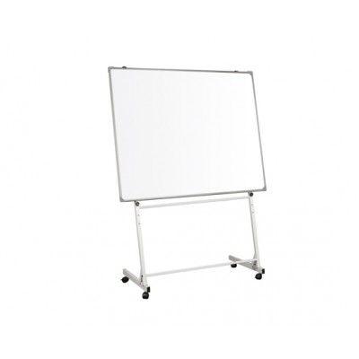 Cavalete com rodas p/ quadro branco de escrita a marcador