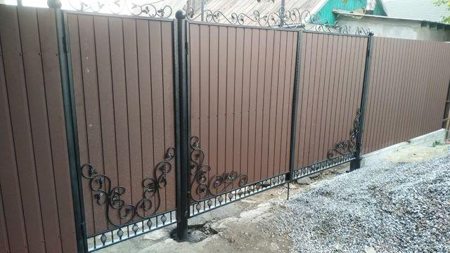 Заборы, ворота, навесы