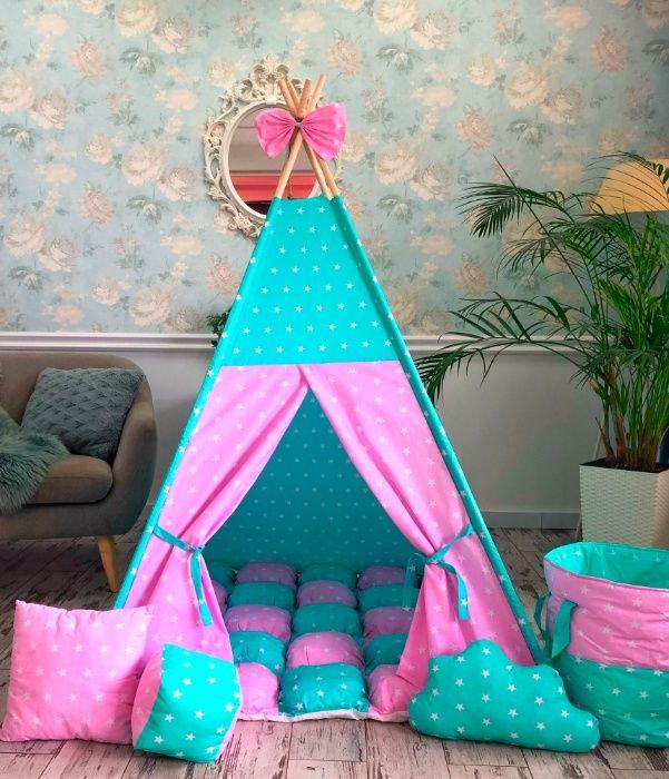 Детский вигвам, палатка, домик игровой. Акция. Подарок при заказе. Харьков - изображение 1