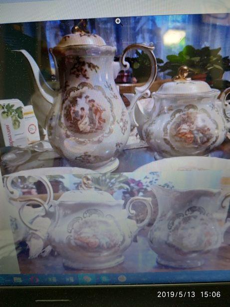 Продам чайный фарфоровый сервиз Мадонна Оscar Schelegelmich из ГДР на