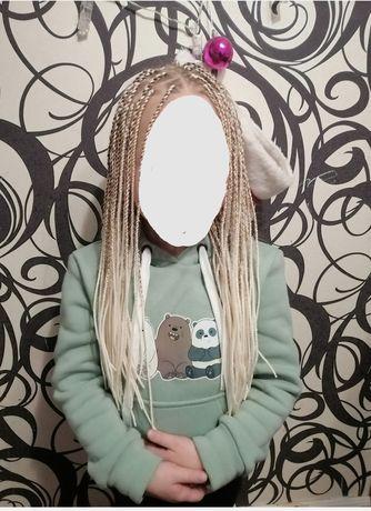 Косы синигальские, афро косы, брейды,