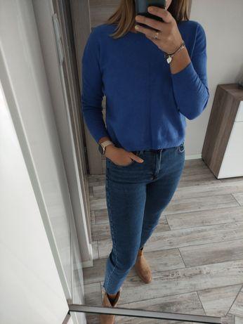 Sweter niebieski Sisley