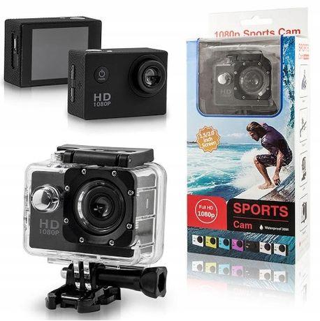 kamera sportowa wodoodporna 1080p pro