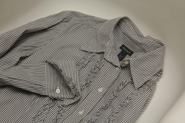 Gant USA L блуза из хлопка жабо