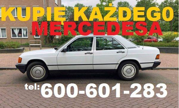 Skup Mercedes 190D 124D 2.0D Diesel 200d 300d w201 2.0 CAŁY KRAJ kup