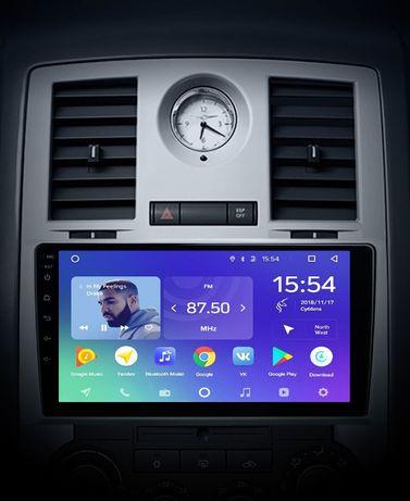 Radio nawigacja Chrysler 300C 2004=2011 Android 8.1 WiFi Bluetooth GPS