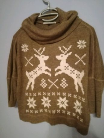 Sweterek świąteczny oraz dekoracje