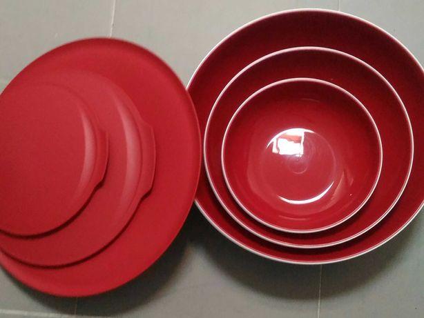Saladeiras Tupperware 'Allegra'