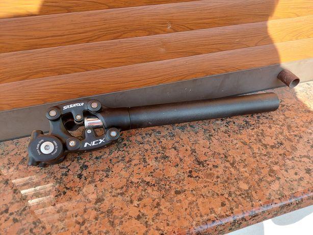 sztyca amortyzowana SR Suntour NCX 31.6 mm / JAK NOWA !