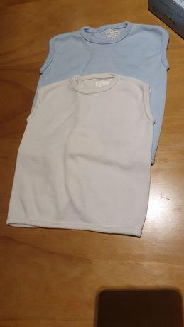 2 tee-shirt sem mangas
