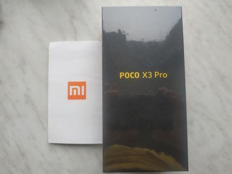 Poco x3 pro 6/128 Phantom Black запакованный, официальный с гарантией