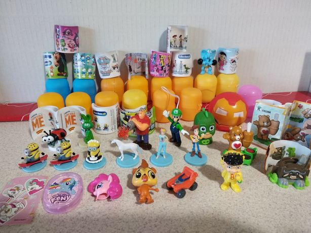 Figurki 3D Mario, Frozen Toy Story Smerfy, LPS, Peppa, Pony Psi Patrol