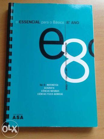 Livro auxiliar 8ano - mat, cfq, geo e ciências