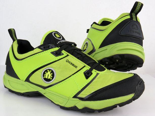 ICEBUG Profesjonalne buty do biegania WODOODPORNE + KOLCE r 41 -45%