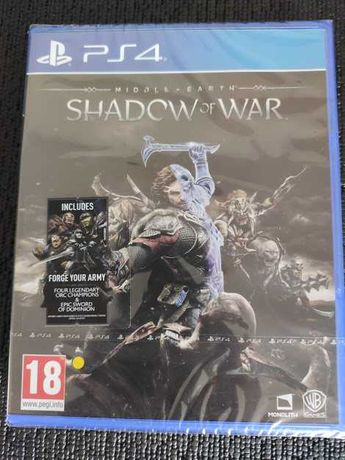 Middle Earth Shadow of War PS4 NOVO SELADO playstation 4