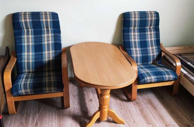 Dwa Fotele plus ława rozkładana