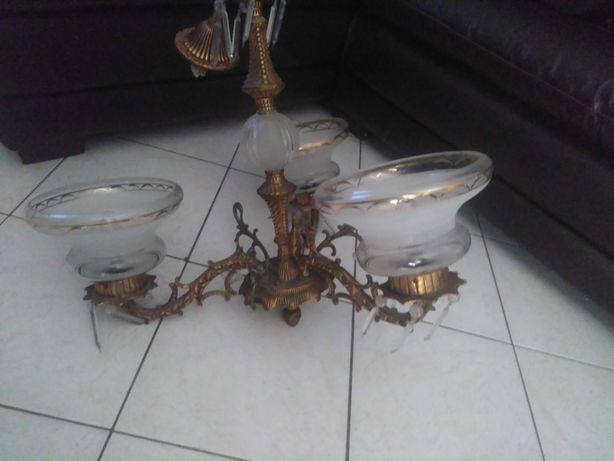 Candieiro  Dourado de 3 lampadas 50€ faro