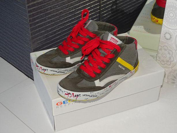 Trampki Geox Alonisso r. 35 sneakersy zadbane