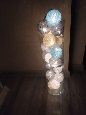 Kulki oświetlenie, dekoracja