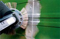 Decapadora de escova de agulhas pneumática ou eléctrica