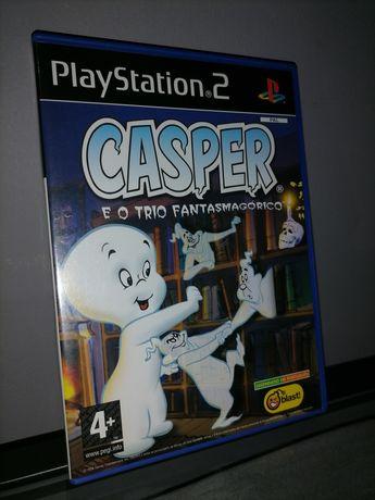 """Jogo Casper e o trio fantasmagórico """"Ps2"""""""