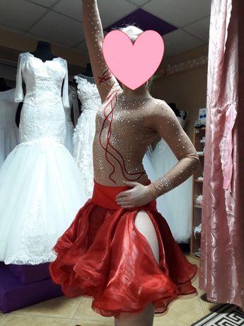 платье для спортивно-бальных танцев сукня для спортивно-бальних танці