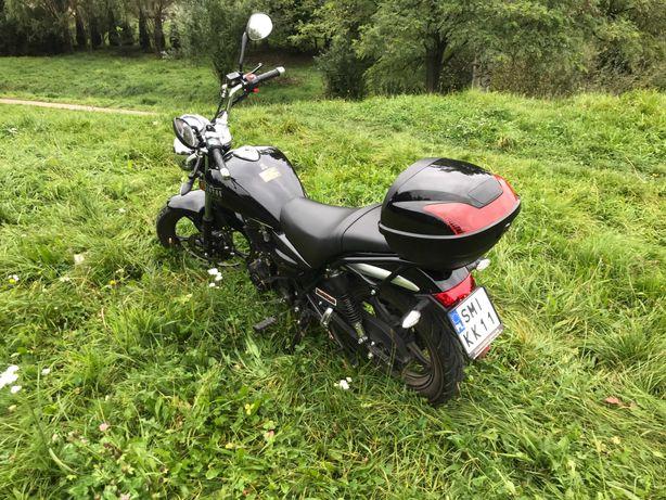 Motocykl Barton Classic 125