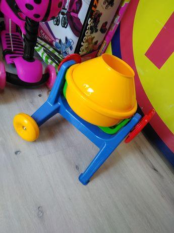 Betoniarka traktor POLSKIE ZABAWKI