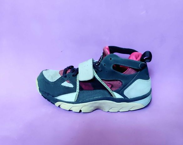 Кожаные Nike Huarache Оригинал беговые очень крутые кроссовки