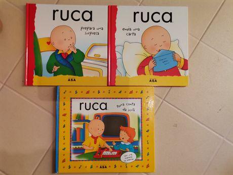 Livros infantis do Rucca