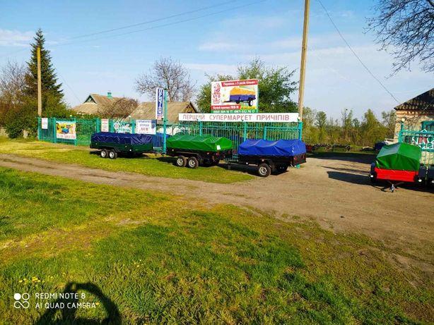 Новый прицеп ЛЕВ-СУПЕР с Завода или с Базы в Чутово. Есть рассрочка