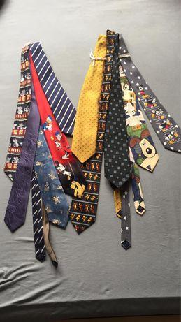 Krawaty- zestaw 10szt.