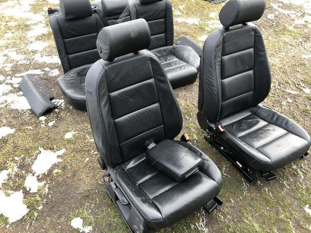 Audi A6 C6 fotele skórzane skóra komplet Avant