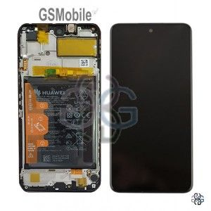 Ecrã - Display LCD Touch Frame Bateria Huawei P Smart 2021 ORIGINAL