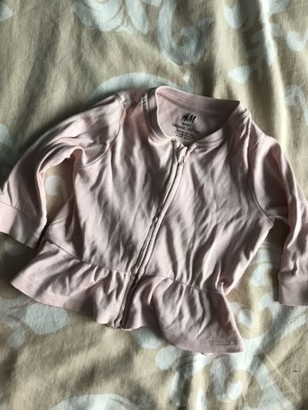 Bluza cienka H&M falbanki 68