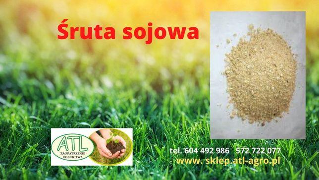 Śruta sojowa - uzupełnienie mieszanek paszowych w białko