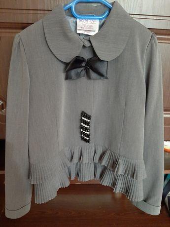 Пиджак школьный для девочки Моне 146 рост