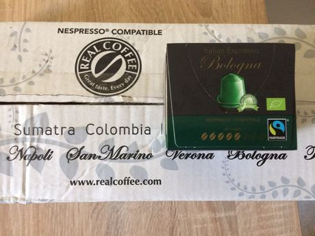 Kawa kapsułki Italian Nespresso