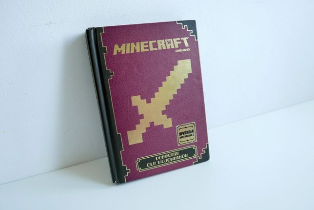 Minecraft - Poradnik dla wojowników TWARDA OPRAWA