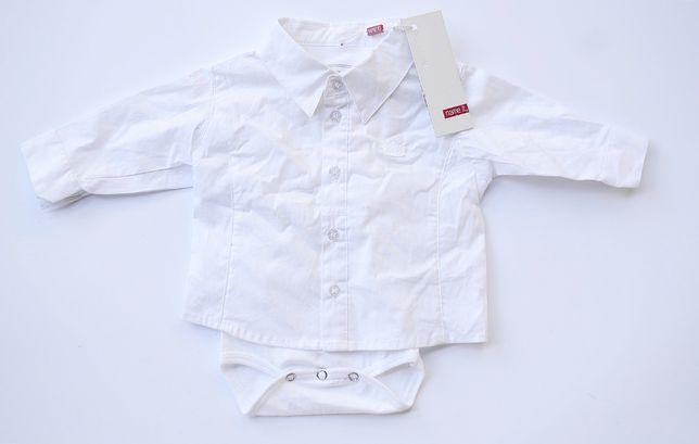 Koszula Biała NOWA Name It 56 cm 1 2 m Newborn Body Zara H&M Reserved