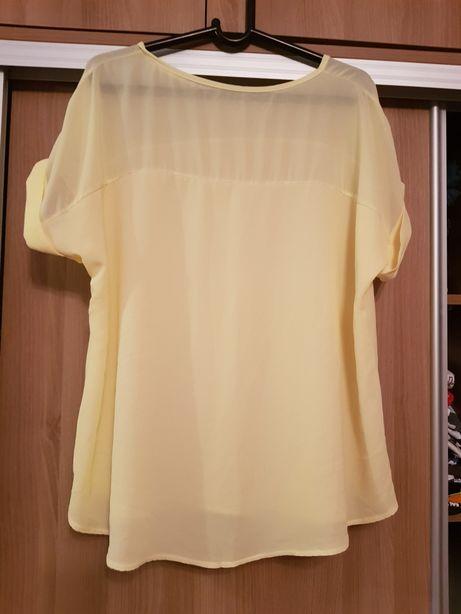 Bluzka 50 xxl żółta
