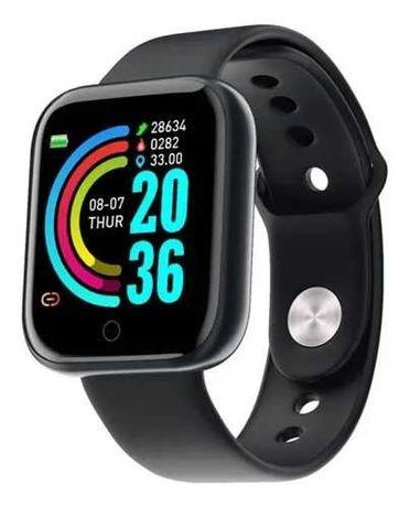 Smartwatch / Smartband L18 - Relógio Inteligente - Preto