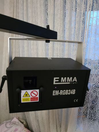 Анимационный лазер EMMA EM24B