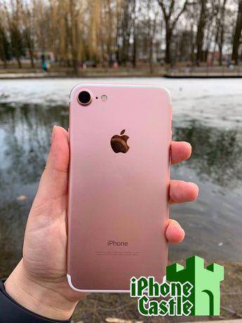 iPhone 7 32/128/256GB Rose Gold розовый Айфон ГАРАНТИЯ Подарок