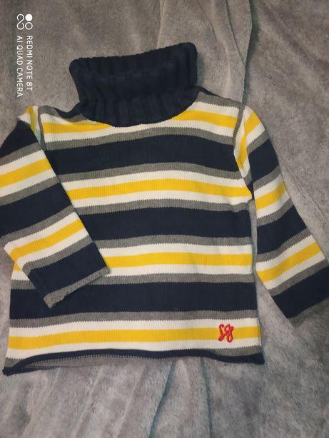 Sweter golf chłopięcy rozmiar 92 H&M