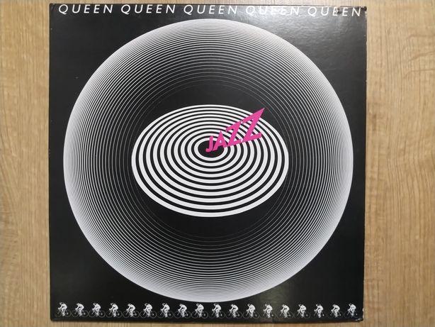 Płyty winylowe Queen Jazz + plakat.