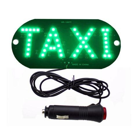 Светодиодная табличка такси TAXI LED