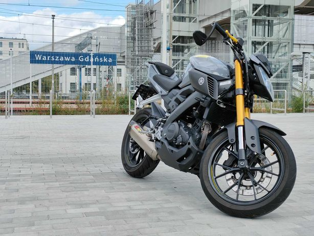 Yamaha MT 125 [Akrapović] 2016r.