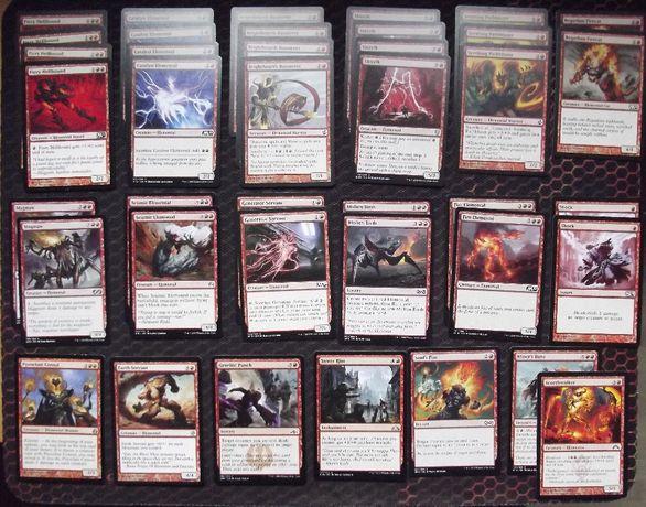 MTG RED Elementals DECK talia 60 kart NM [Qb]